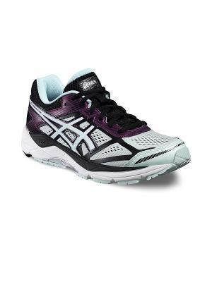 Спортивная обувь GEL-FOUNDATION 12 ASICS. Цвет: черный, голубой, сиреневый