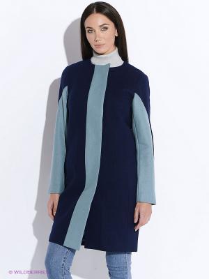 Пальто DOCTOR E. Цвет: синий, голубой