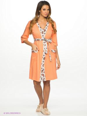 Комплект одежды Vienetta Secret. Цвет: персиковый