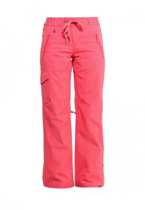 Брюки горнолыжные Roxy. Цвет: розовый