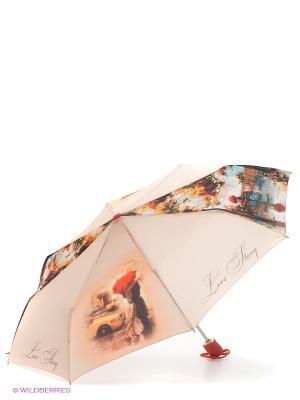 Зонт Zest. Цвет: бежевый, кремовый