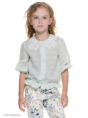 Блузка CHOUPETTE. Цвет: светло-зеленый