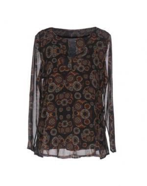 Блузка LA FEE MARABOUTEE. Цвет: черный