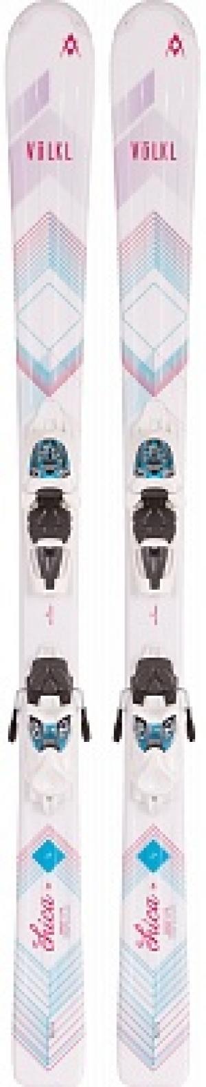 Горные лыжи детские  Chica + M 7.0 EPS Volkl