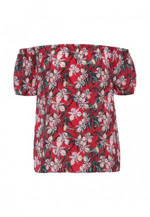 Блуза Modis. Цвет: красный
