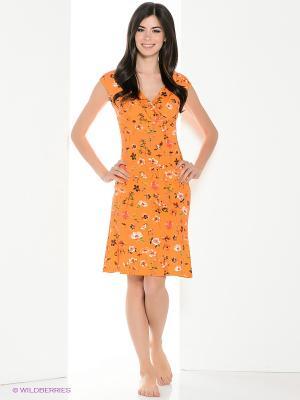 Сорочка Vaide. Цвет: оранжевый