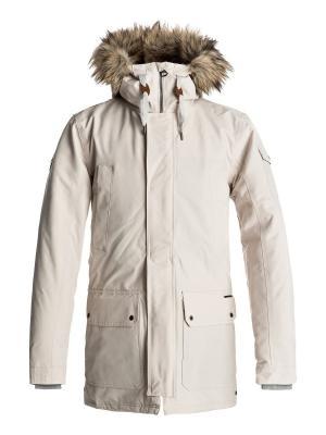 Куртка Quiksilver. Цвет: молочный