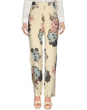 Повседневные брюки KATIA G.. Цвет: светло-желтый