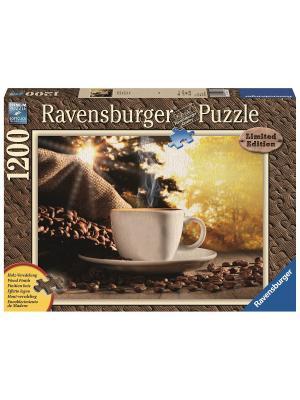Пазл Время для кофе 1200шт Ravensburger. Цвет: синий