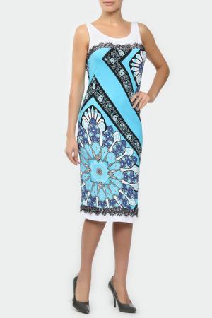 Платье M&L Collection. Цвет: белый