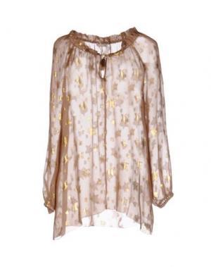 Блузка CARLA G.. Цвет: верблюжий