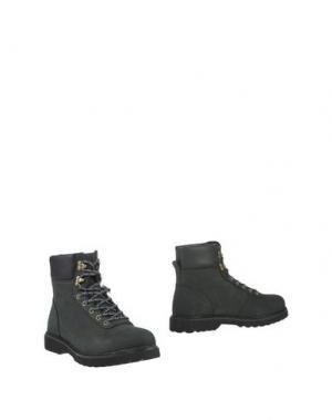 Полусапоги и высокие ботинки RANSOM. Цвет: свинцово-серый