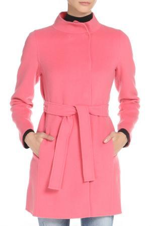 Пальто Marella. Цвет: розовый