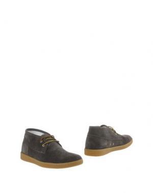 Полусапоги и высокие ботинки BRUNO MAGLI. Цвет: свинцово-серый