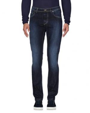 Джинсовые брюки X-CAPE. Цвет: синий