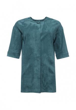 Пальто Lina. Цвет: зеленый