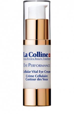 Восстанавливающий крем для век с клеточным комплексом La Colline. Цвет: бесцветный
