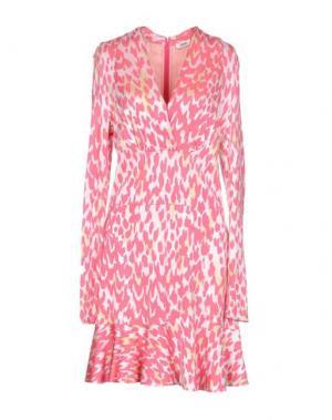 Короткое платье ISSA. Цвет: розовый