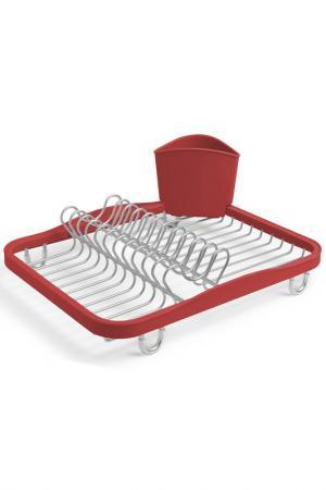 Сушилка для посуды Sinkin UMBRA. Цвет: красный