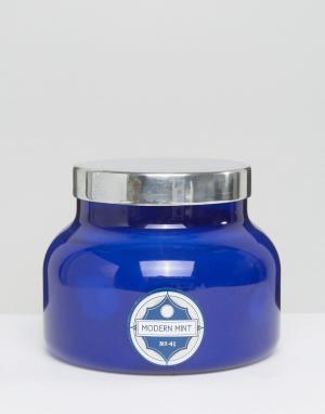 Capri Blue Синяя свеча с ароматом мяты. Цвет: бесцветный