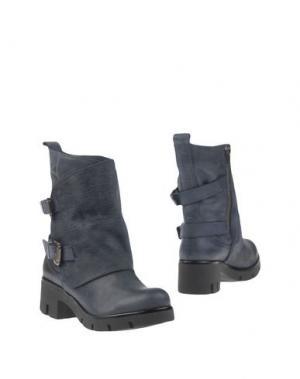 Полусапоги и высокие ботинки GENEVE. Цвет: грифельно-синий