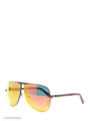 Очки солнцезащитные BLD 1525 101 Baldinini. Цвет: коричневый