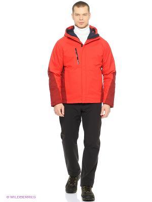 Куртка TROPOSPHERE DF O2+ INS JKT M Jack Wolfskin. Цвет: красный