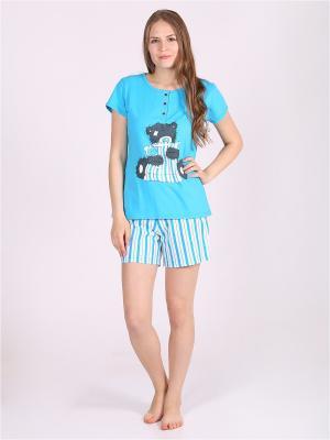 Пижамы Flip. Цвет: синий