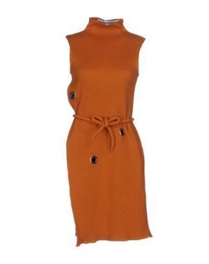 Короткое платье FAUSTINE STEINMETZ. Цвет: оранжевый