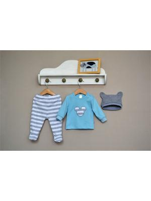 Комплект одежды Baby Boom. Цвет: голубой