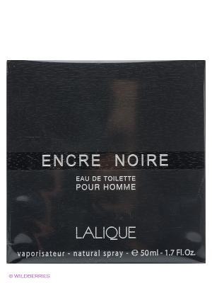 Туалетная вода Encre Noire, 50 мл LALIQUE. Цвет: темно-серый