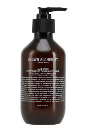 Жидкое мыло для рук «Апельсин, кедр и шалфей» 300ml Grown Alchemist. Цвет: multicolor