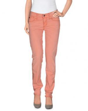Повседневные брюки TAKE-TWO. Цвет: лососево-розовый