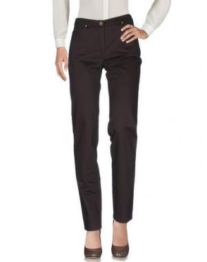 Повседневные брюки PAZ TORRAS. Цвет: темно-коричневый