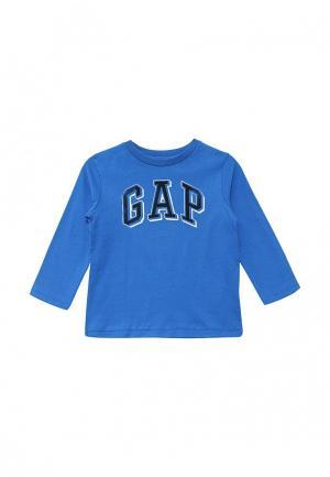 Лонгслив Gap. Цвет: синий