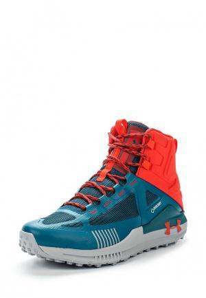 Ботинки трекинговые Under Armour. Цвет: синий