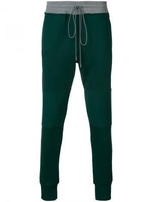 Спортивные брюки LAX Oyster Holdings. Цвет: зелёный