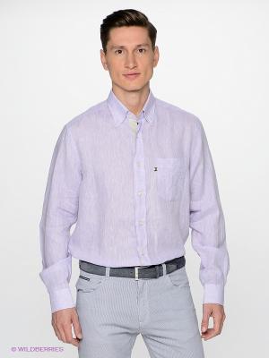 Рубашка Navigare. Цвет: сиреневый