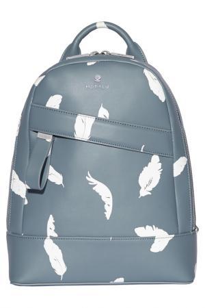 Рюкзак Modalu. Цвет: light blue, white