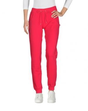 Повседневные брюки CARLSBERG. Цвет: фуксия