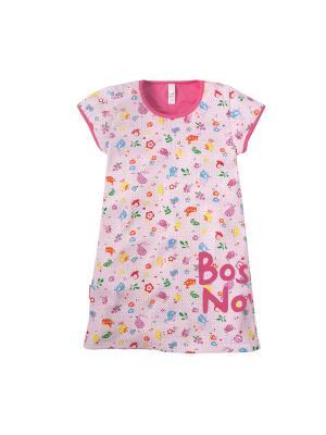 Сорочка Bossa Nova. Цвет: розовый