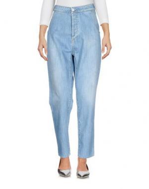 Джинсовые брюки ATTIC AND BARN. Цвет: синий
