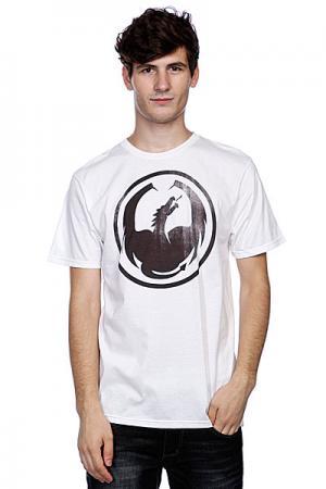 Футболка  Watermark White Dragon. Цвет: белый