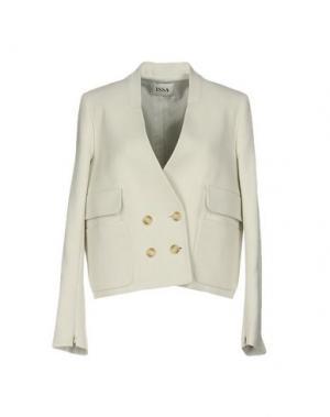 Пиджак ISSA. Цвет: светло-серый