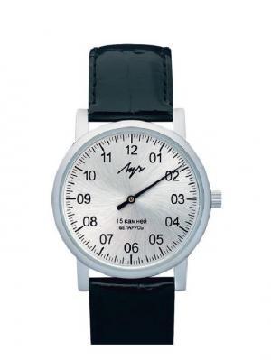 Часы нар.мех.муж. вар.720 ЛУЧ-1801.1Н ХРОМ ЛУЧ.. Цвет: серебристый
