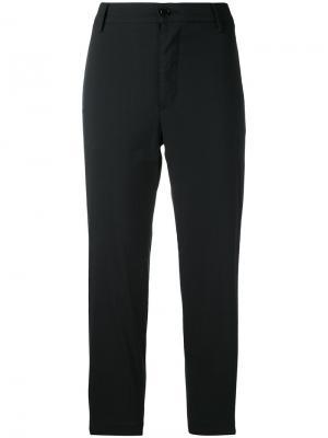Укороченные брюки Barena. Цвет: чёрный