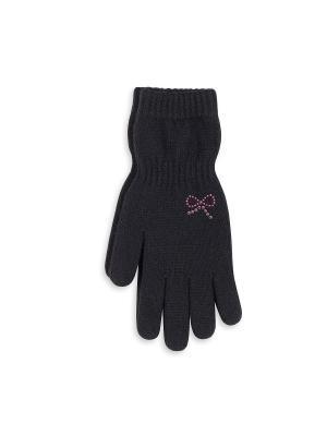 Перчатки Веселый ветер. Цвет: черный