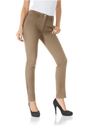 Моделирующие брюки Ashley Brooke. Цвет: белый, бордовый, голубой, красный, розовый, светло-коричневый, серо-коричневый, серый, темно-синий, черный