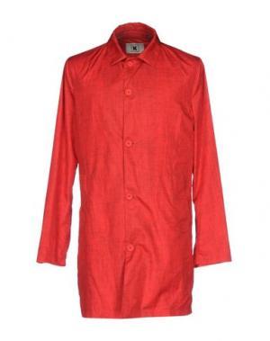 Легкое пальто KIRED. Цвет: красный