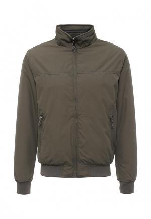 Куртка утепленная Vanzeer. Цвет: хаки